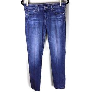 AG Stevie Ankle Slim Straight Skinny Jeans Size 28